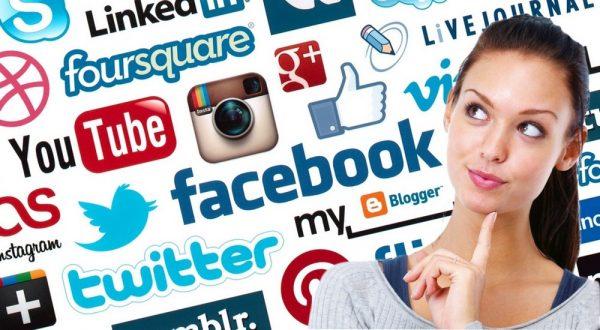 Imagens nas redes sociais